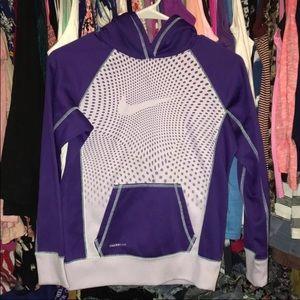 Girls Nike Therma-Fit Pullover Hoodie